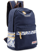 Fashion Camouflage Canvas Backpack College School Bag 37cm Laptop Backpack for Teenage Girls