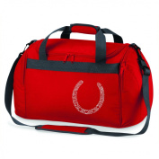 Diamante Horseshoe Sports Holdall