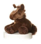 Aurora World 20cm Mini Flopsies Chestnut Horse Toy
