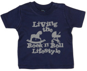 IiE, Living the Rock 'n Roll Lifestyle, Baby Unisex Boy Girl T-shirt