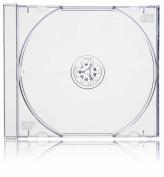 Vision Media 10 X Single Clear CD Jewel Case - 10.4mm