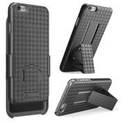 iPhone 6 Plus Case, i-Blason Apple iPhone 6 Plus Case 14cm Transformer Slim Hard Shell Case Holster Combo Plus Kickstand + Locking Belt Swivel Clip for Apple iPhone 6 Plus