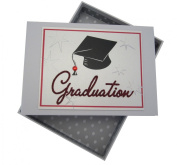 White Cotton Cards Graduation Cap Tiny Photo Album, Code GRD1T
