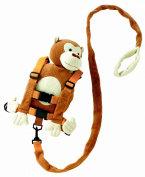 Goldbug Harness Buddy Light Brown Monkey White Face