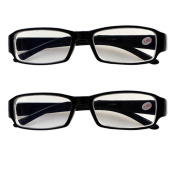 2 PRS Nearsighted Shortsighted Myopia Glasses -5.50 Strength New! **These are not reading glasses**