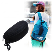 Southern Seas Robust Black Sports Outdoor Glasses Sunglasses Carrying Case 16x6cm w Carabiner Hook
