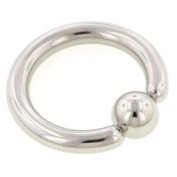 Surgical Steel Ball Closure Ring - 3.2mm 22mm