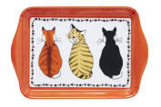 Cats in Waiting Scatter Tray by Ulster Weavers