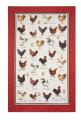 MF Chicken & Egg Linen Tea Towel