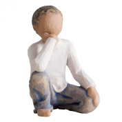 Willow Tree Inquisitive Child Figure in New Skin Tone