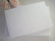 Plain, Blank White Guest Book
