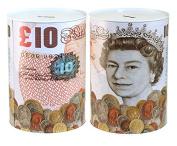(I cant get in) Tin Money Box - JUMBO