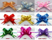 10 Pull Ribbon Bows (x2) LIGHT BLUE (Size 12) Ideal Weddings ~ Party ~ Celebrations ~ Decoration ~ Gift