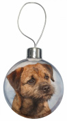 Border Terrier Christmas Bauble Decoration