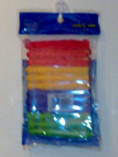 COLOURED PLASTIC DOLLY PEGS