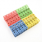 amazing-trading(TM) 20 Pcs Heavy Duty Plastic Clothes Pins Hanging Pegs Clips