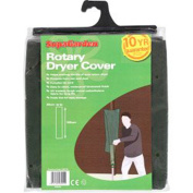Economy waterproof cover for rotary clothes line dryer