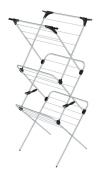 Minky 3 Tier Plus Indoor Airer, 21m drying space, Chrome
