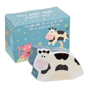 Little Rhymes Fine China Little Rhymes, Hey Diddle Diddle Money Box, Multi-Colour