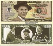 Novelty Dollar Frank Sinatra Ol Blue Eyes Million Dollar Bills x 4 I Did It My Way Singer Actor