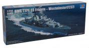 Trumpeter 04546 HMS Westminster Type 23 Frigate 1:350 Plastic Kit