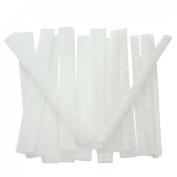 Great Deal(TM) 15 pcs White Makeup Cosmetic Brushes Guard Mesh Protectors Cover