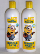 Minions Bubble Bath with Vitamin E Banana Scent