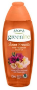 Aroma Greenline Shower Gel Greenline Fine Fragrances Sheer Freesia 400Ml