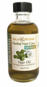 Silk & Stone 100% Pure & Natural Brahmi Oil for Healthy, Long, Beautiful Hair.