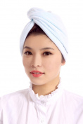 Girls Super Soft Microfiber Hair Twist Head Wrap