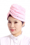 Womens Bath Hair Twist Hair-Drying Cap