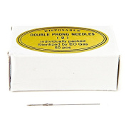 KP Permanent Makeup Disposable Double Prong Needles - Round