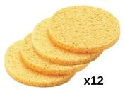 DMtse 12pcs Professional Make Up Remover Sponges