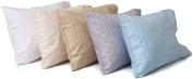 Toddler Travel Pillowcase 100% Softest Cotton Sateen Weave 500 Thread Count - Cases for Pillows, for Babies in Crib, Adult Travel in Cars, Aeroplanes...etc. Kids / Baby Pillow Case Fits a 30cm x 41cm , 33cm x 46cm , or 36cm x 48cm Pillow - Naturally Hy ..
