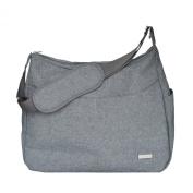 JJ Cole Linden Nappy Bag, Grey Heather