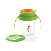 Wow Baby Spill Free 360 Training Cup - Green - 210ml