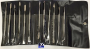 Wax Carving Tools Double Ended Spatulas/Carvers Set of 12