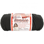 Bonnie Macrame Craft Cord 4mm 50yd-Black