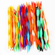 Caryko Fuzzy Bump Chenille Stems Pipe Cleaners, Pack of 100