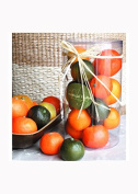Decorative Tangerines, Set of 12