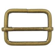 """Bluemoona 20 Pcs - 25mm 1"""" Metal Adjuster Triglides Slides 4 Webbing Belt Strap Srtip"""