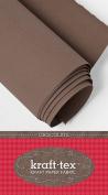 Kraft-tex Paper Fabric 46cm x 1.5 Yard Roll Chocolate