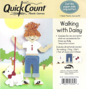 Walking with Daisy Quick Count 7-Mesh Plastic Canvas Kit for Dress Up Molly- 3057465