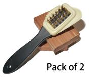 Shoeslulu Intensive Care Suede & Nubuck 4 Ways Leather Brush Cleaner