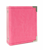 American Crafts We R Memory Keepers Instax Albums with 10 Photo Sleeve, 5.3cm x 8.6cm , Strawberry