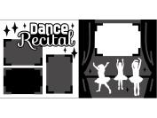 """Dance Recital"" Scrapbook Kit"