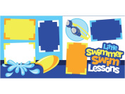 """Little Swimmer Swim Lessons"" Scrapbook Kit"
