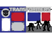 """Transformers"" Scrapbook Kit"