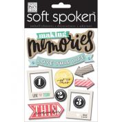 Soft Spoken Themed Embellishments-Love This Life