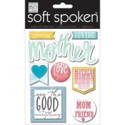 Soft Spoken Themed Embellishments-Caring Mother